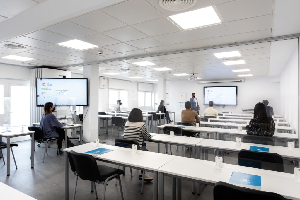 Salas de formación laboral