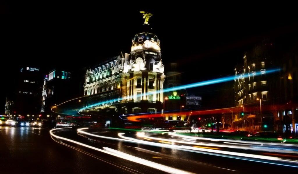 Madrid capital Gran Vía