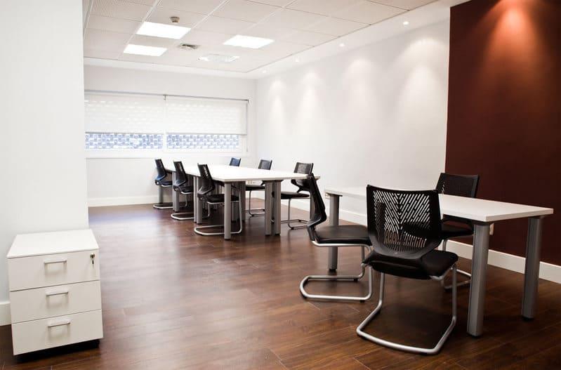vista de una oficina en OfficeMadrid
