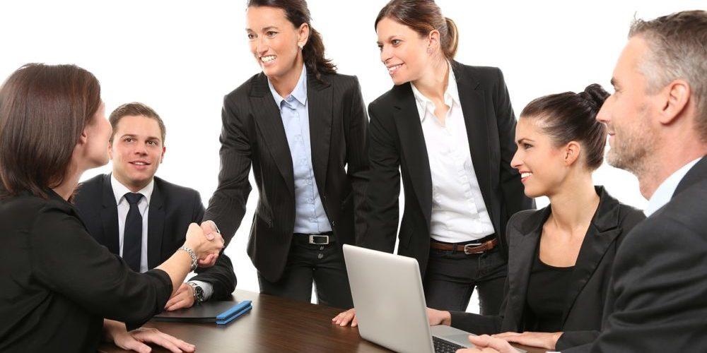 reunión exitosa con tus clientes