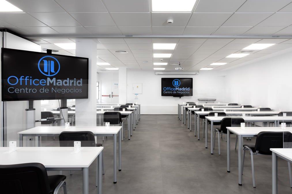sala de formacion executive en OfficeMadrid
